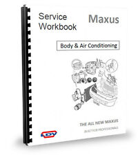 LDV Maxus Central Locking, Air Conditioning, Body Fittings Workshop Manual