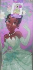DISNEY PRINCESS TIANA BEACH TOWEL