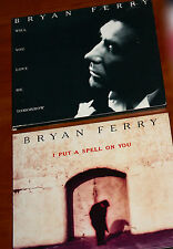 BRYAN FERRY 2x CD SINGLE LOT I Put a Spell On You Will You Love Me Tomorrow FSOL