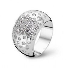 New Genuine  Ti Sento Silver CZ Ring 1803ZI/56 £125