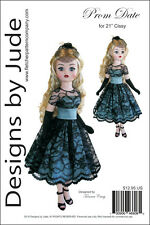 "Prom Date Pattern for 21"" Cissy Dolls Madame Alexander"