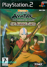 Avatar: The Legend of Aang The Burning Earth Sony Playstation 2 7+ Action Game