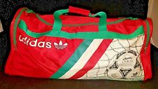 ADIDAS WORLD CUP 1990 ITALY ETRUSCO UNICO Official Soccer Ball Gym Duffel Bag