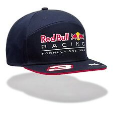 2017 OFFICIAL F1 Red Bull Racing Daniel RICCIARDO Flat Brim Cap Hat – NEW