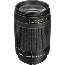 Nikon 70-300 mm f/4-5.6G Zoom Lens with Auto Focus for Nikon DSLR Cameras