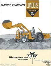 Equipment Brochure - Massey-Ferguson - MF 101 102 - Loader - c1960 (E2000)