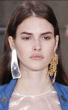 **LOEWE** Statement Single Gold Plated Waterfall Earring **RUNWAY 2016**