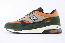 New Mens New Balance 1500 Norwegian Wood Made In England Trainers UK 10 M1500RO