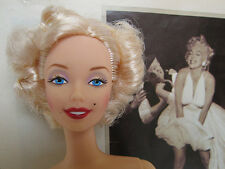 Nude Barbie Doll Platinum Blonde Marilyn  Seven Year Itch For OOAK