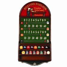 Wooden Billiard Parlor Score Board 3D Art R938 w/ FREE Shipping