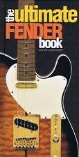 The Ultimate Fender Book Book Hardcover NEW 000153446