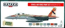Hataka Hobby Paints ISRAELI AIR FORCE MODERN JETS Acrylic Paint Set