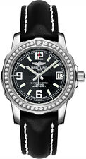 A7738753/BB51-414X | BREITLING COLT LADY | NEW BLACK 33mm DIAMOND WOMENS WATCH