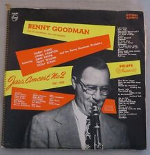 "Benny Goodman ""Jazz Concert No. 2 1937-1938"" 2 Vinyl Set Hollard Press"
