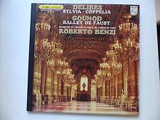 DELIBES Sylvia , coppelia GOUNOT Ballet de Faust dir BENZI 6500249