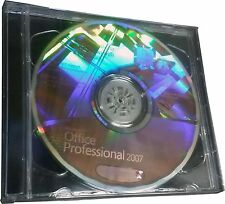 Microsoft Office Professional 2007 for 1 PC NEW! (DVD w/Hologram) & Key#
