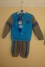 BRAND NEW WITH TAGS Baby Boy Sports 3 Piece Outfit 18-24 Months Joggers Lonsdale