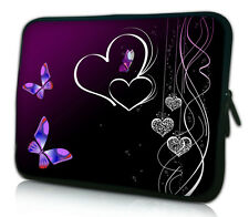 "Purple Butterfly 17""inch Laptop Bag Sleeve Case Cover For 17.3"" HP ENVY 17 3D"