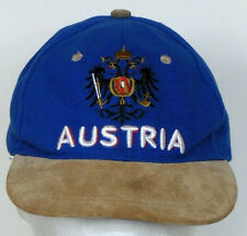 Austria Coat of Arms Blue Adjustable Cotton Baseball Hat Cap