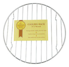 Harold'S Kitchen Cooling Rack Chrome, Round 9.75""