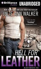 Black Knights Inc: Hell for Leather 6 by Julie Ann Walker (2014, MP3 CD,...