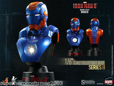 Iron Man 3 Collectible Bust Hot Toys Sideshow Collectibles Marvel 1/6 Scale NEW