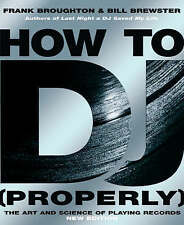 BROUGHTON/BREWS-HOW TO DJ (PROPERLY) (REISSUE)  BOOK NEW