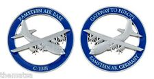 "RAMSTEIN AIR FORCE BASE C-1301 GATEWAY TO EUROPE 1.75"" CHALLENGE COIN"