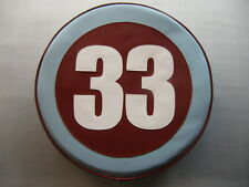 Any colour/Any Number Vespa/Lambretta Scooter Wheel Cover