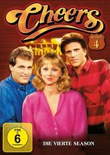 CHEERS SEASON 4 MB  4 DVD NEU TED DANSON/WOODY HARRELSON/SHELLEY LONG/+