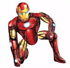 "46"" New Avengers Gliding Iron Man 3D AIRWALKER Balloon Birthday Party Decoration"