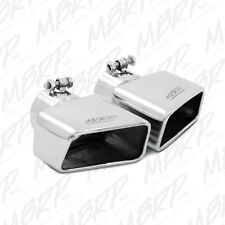 """MBRP Rectangular Angled Cut Exhaust Tip 3"""" O.D. inlet 7"""" length T5119"""