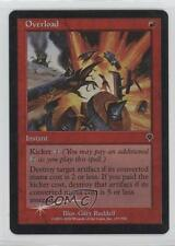 2000 Magic: The Gathering - Invasion Booster Pack Base Foil #157 Overload 1i3