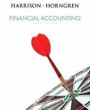 Financial Accounting by Charles T. Horngren and Walter T. Harrison (2008,...