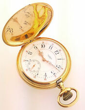 18k C H MEYLAN Brassus Hunter pocket watch High Grade