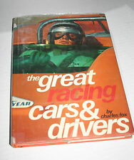 Great Racing Cars and Drivers by Fox (1972, Other)