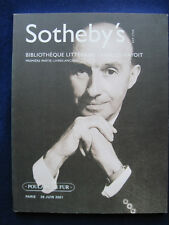 Sotheby's Auction Catalogue CHARLES HAYOIT Rare Book Collection - Text in French