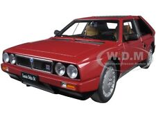 LANCIA DELTA S4 RED 1/18 DIECAST MODEL CAR BY AUTOART 74771