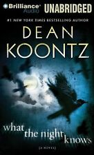 WHAT THE NIGHT KNOWS unabridged audio book on CD by DEAN KOONTZ