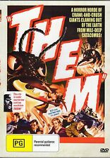 THEM RARE 1954 HORROR MOVIE NEW ALL REGION DVD