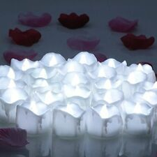 OMGAI LED Tealights with Timer Flameless Flickering Candles,Battery-Powered 60+
