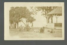 Ortonville MINNESOTA RP c1910 KLONDIKE BILL Traveler DOG SLED Wagon