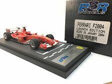 BBR Ferrari F2004 Launch Edition BG252 1/43 n/Looksmart, AMR, Ilario, MR