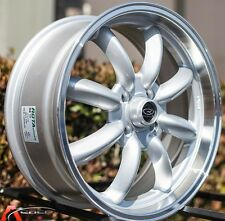 17 ROTA RB RIMs 4X100 ROYAL SILVER WHEELS EXCLUSIVE FOR MINI COOPER