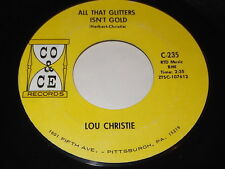 Lou Christie: All That Glitters Isn't Gold / Outside The Gates Of Heaven 45