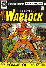 Warlock  no.1   (french Canadian edition Héritage)    NM near mint