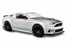 2014 Ford Mustang Rue Racer blanc, Maisto Auto Modèle 1:24