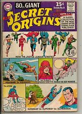 DC Comics 80 Page Giant #8 March 1965 More Secret Origins JLA G