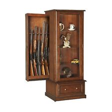Curio and Gun Cabinet Combination by American Furniture Classics