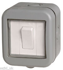 BG Weatherproof IP55 1 Gang Switch - FREE P&P